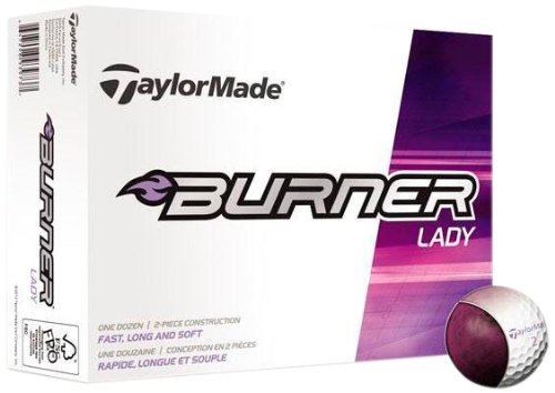 Womens Taylormade Burner Lady Golf Balls 12 Pack