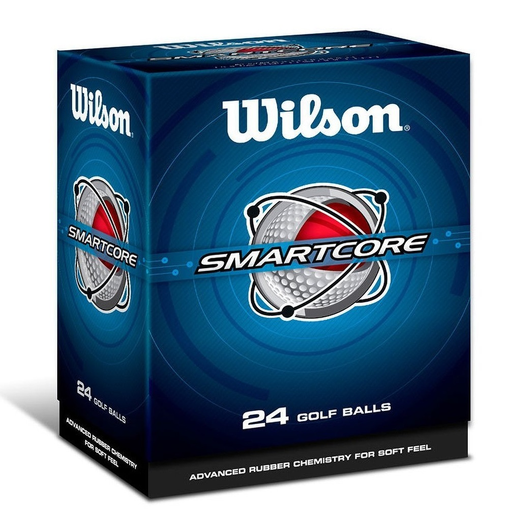 Mens Wilson Smart Core (24 Pack) Golf Balls