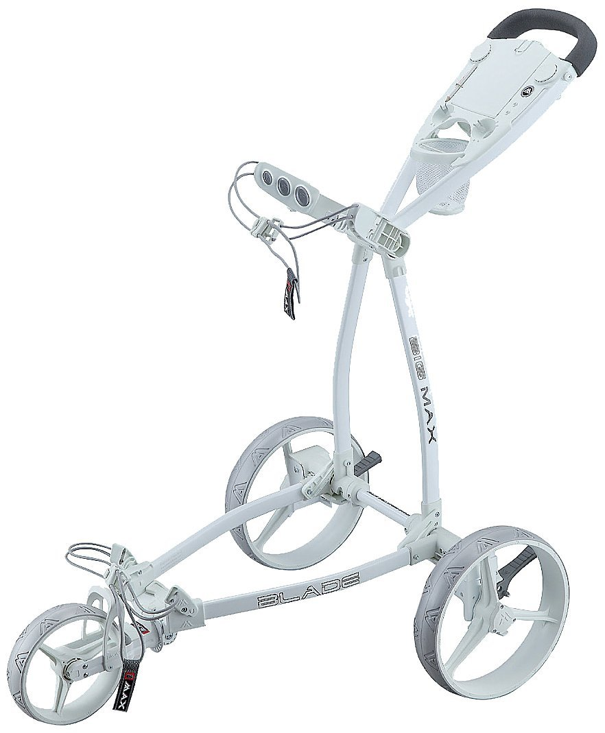 Big Max Blade Fete Blanche Golf Trolley Push Carts