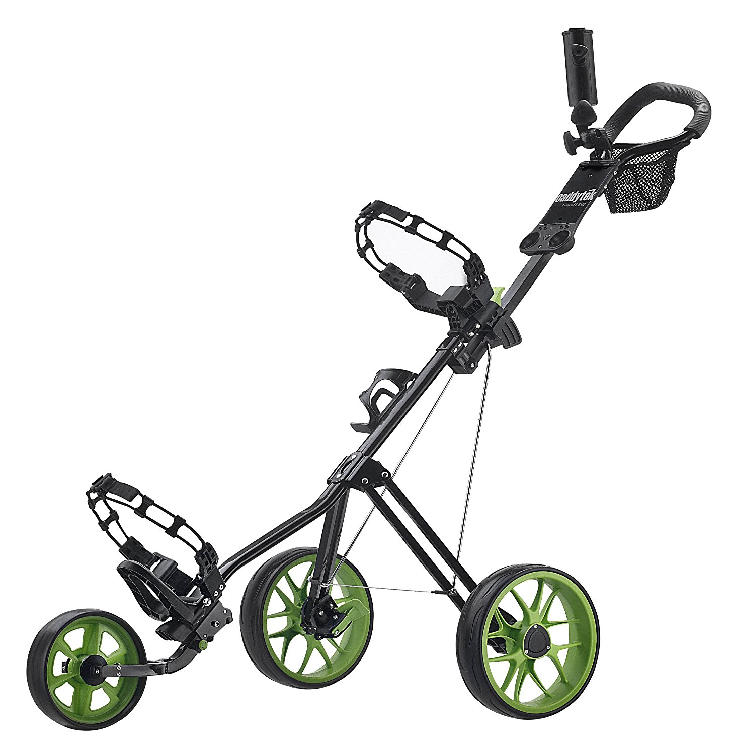 CaddyTek SuperLite Deluxe Golf Push Carts
