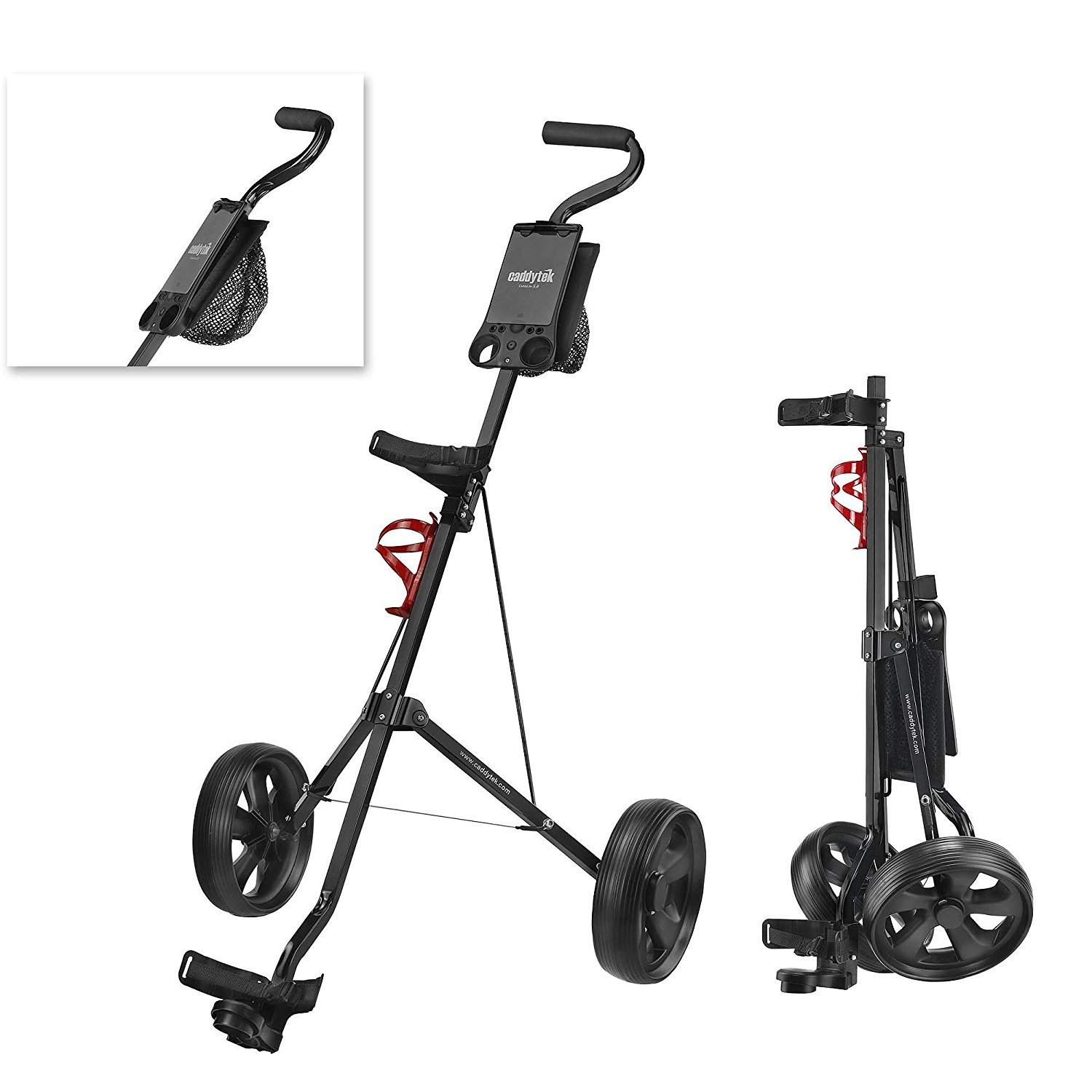 CaddyTek SuperLite Golf Pull Carts