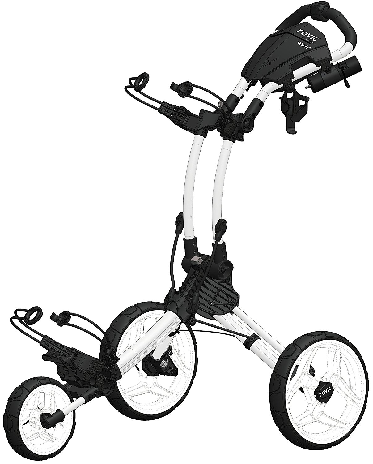 Clicgear Rovic RV1C Golf Push Carts