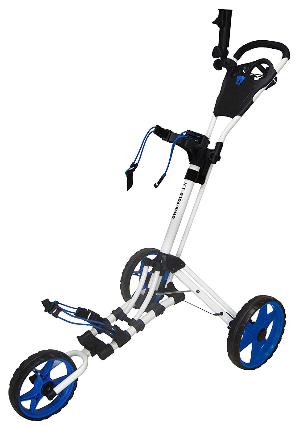 Founders Club 2016 Qwik Fold 3.5 3 Wheel Golf Push Carts