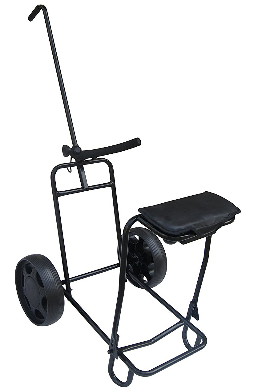 Founders Club Tilt 2 Wheel Golf Pull Carts With Seat