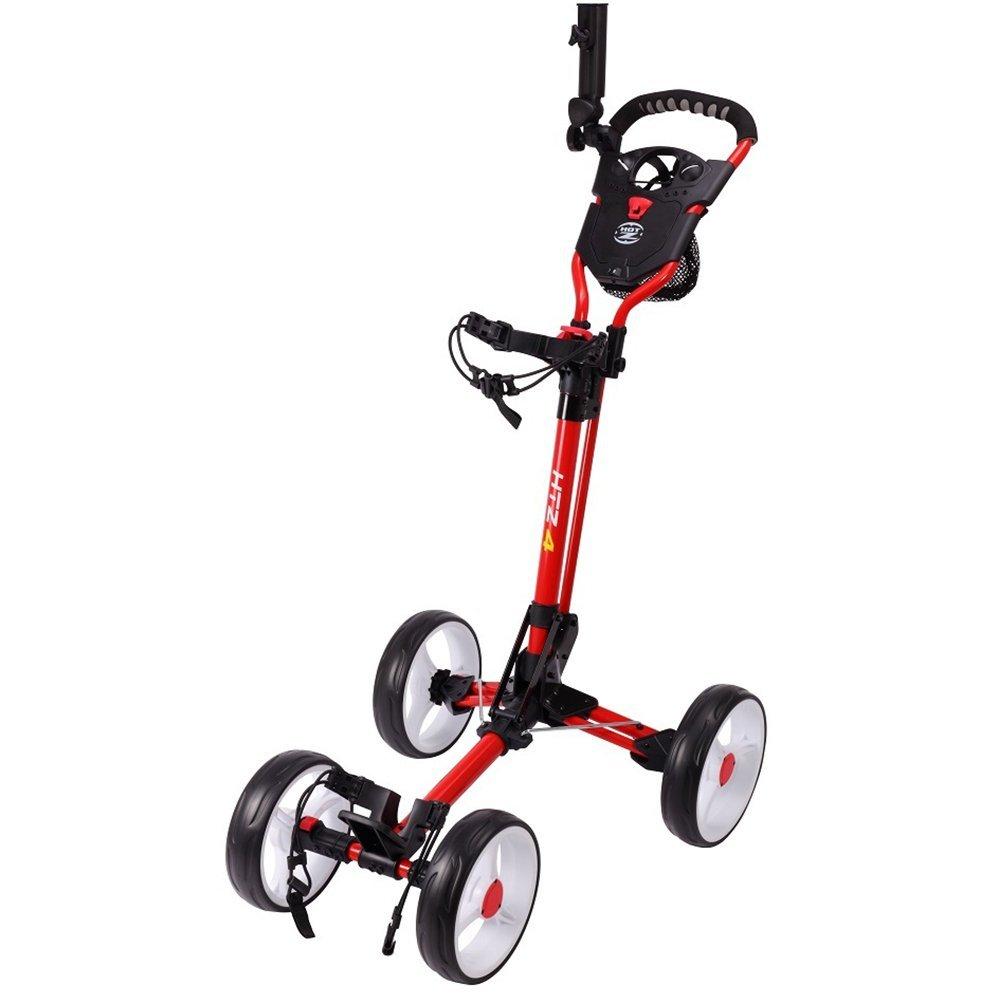 Hot-Z 4.0 Four Wheel Golf Push Carts
