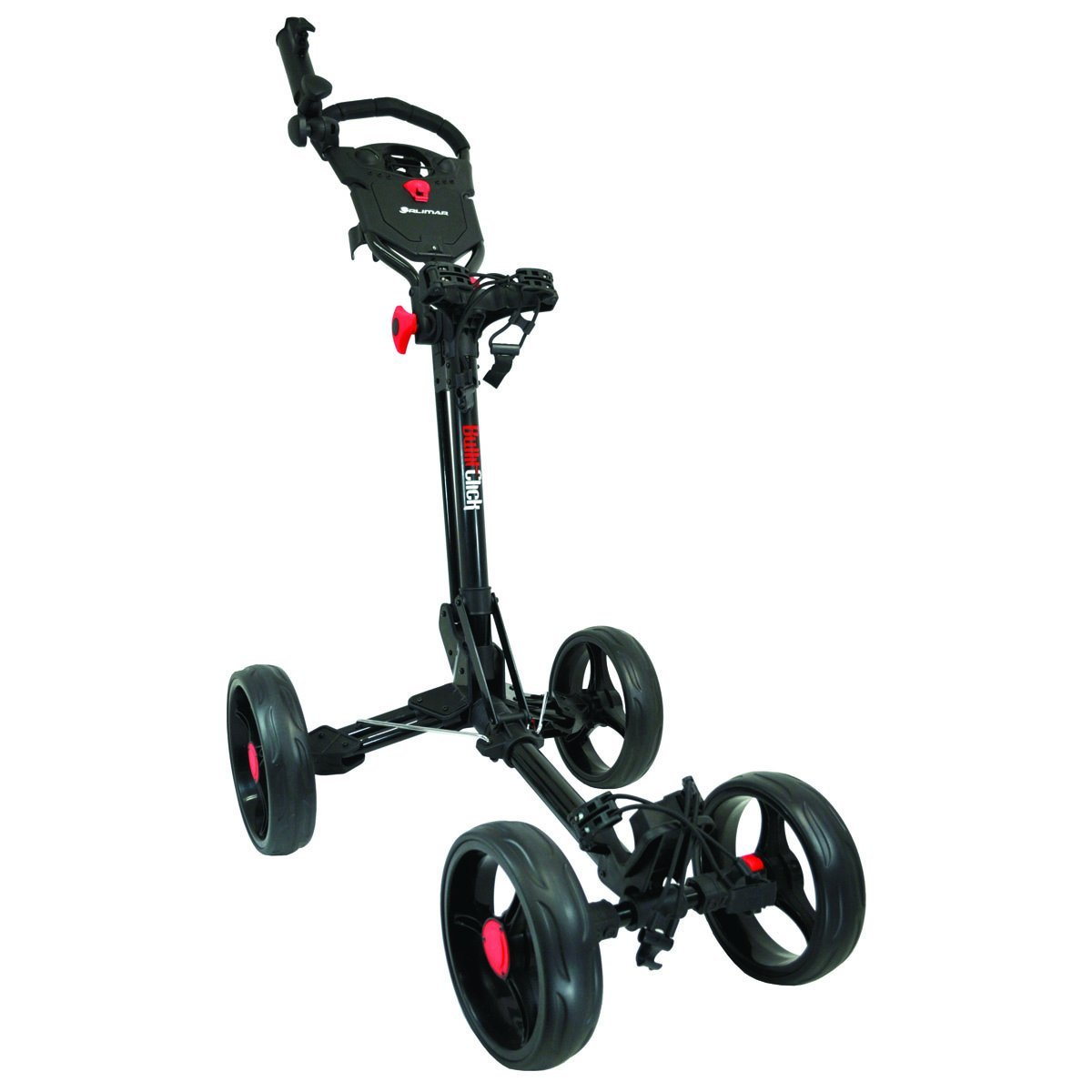Orlimar 2015 Bullit Click 4 Wheel Golf Push Carts