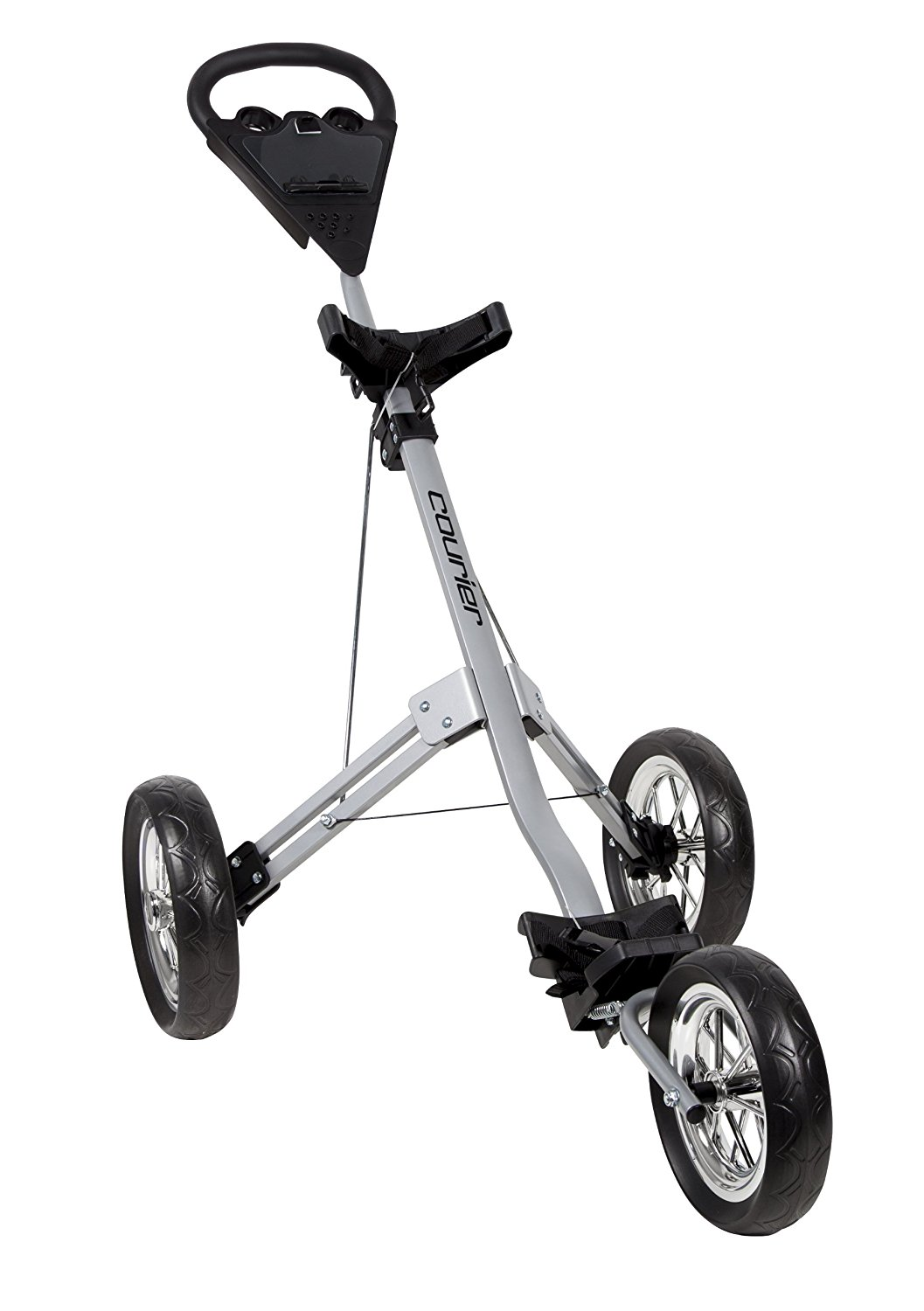 Pinemeadow Courier Crusier 3 Wheel Golf Push Carts