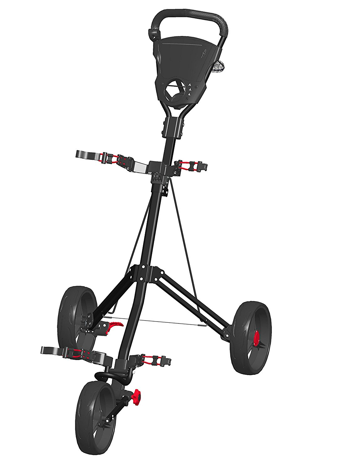 Spin It Easy Roll Golf Push Carts