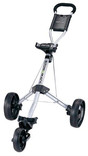 Stowmatic Stowamatic Pro Lite Aluminum 3 Wheel Golf Push Carts