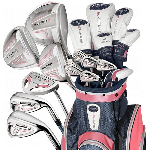 ... Womens Adams Pink Speedline Super S Complete Golf Club Sets 8116a0da28
