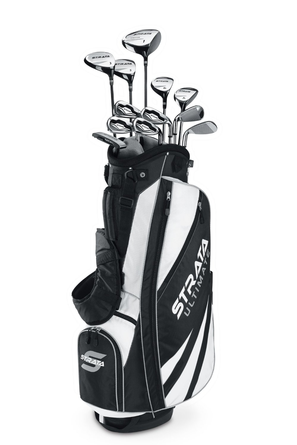 Mens Callaway Strata Ultimate Complete Golf CLub Set with Bag