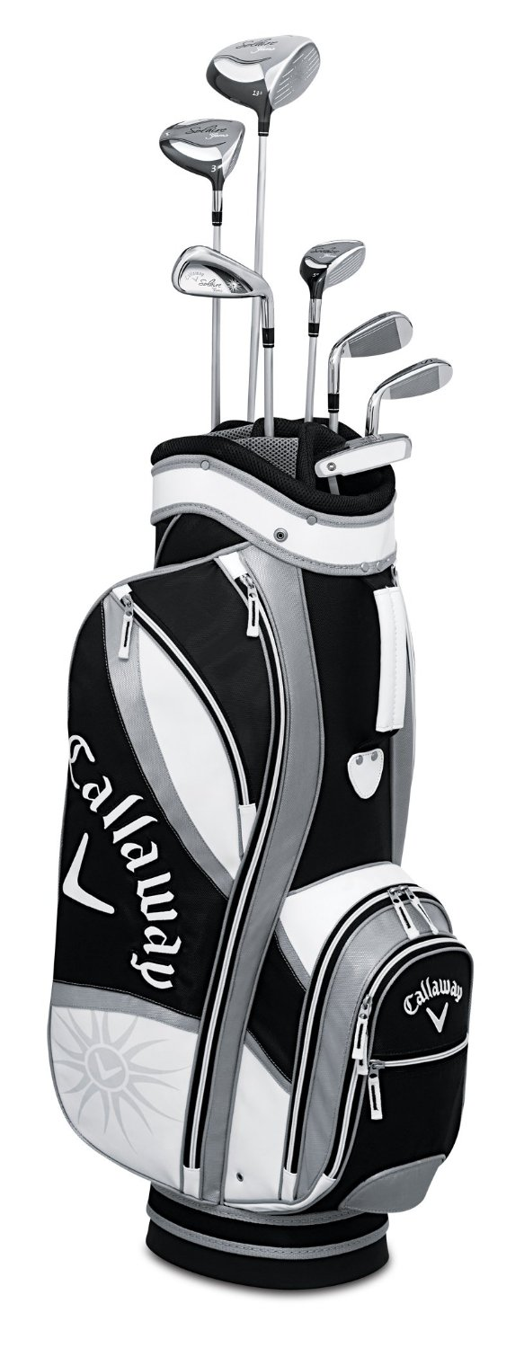 Womens Callaway Solaire Gems Amethyst Complete Golf Club Sets