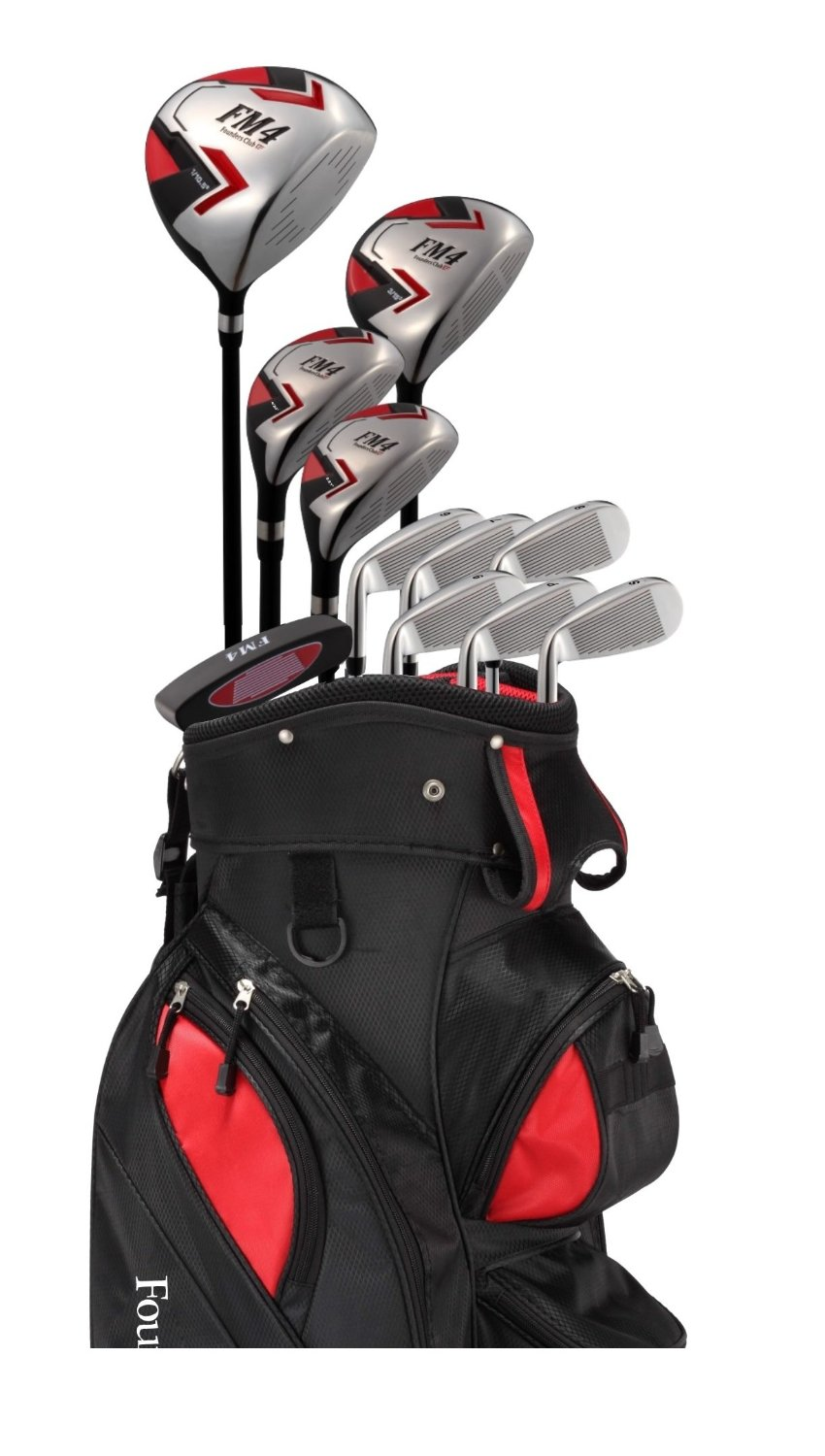 Mens Founders Club FM4 Complete Golf Club Set with Stand Bag