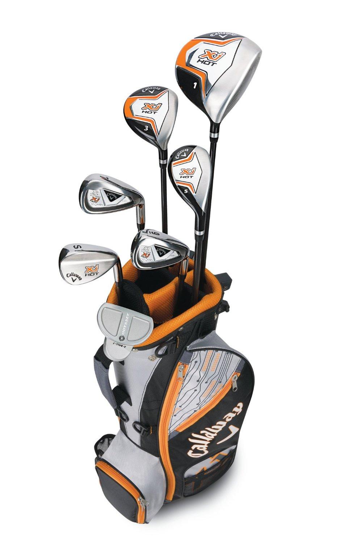 Callaway Boys Xj Hot Junior Complete Golf Club Sets