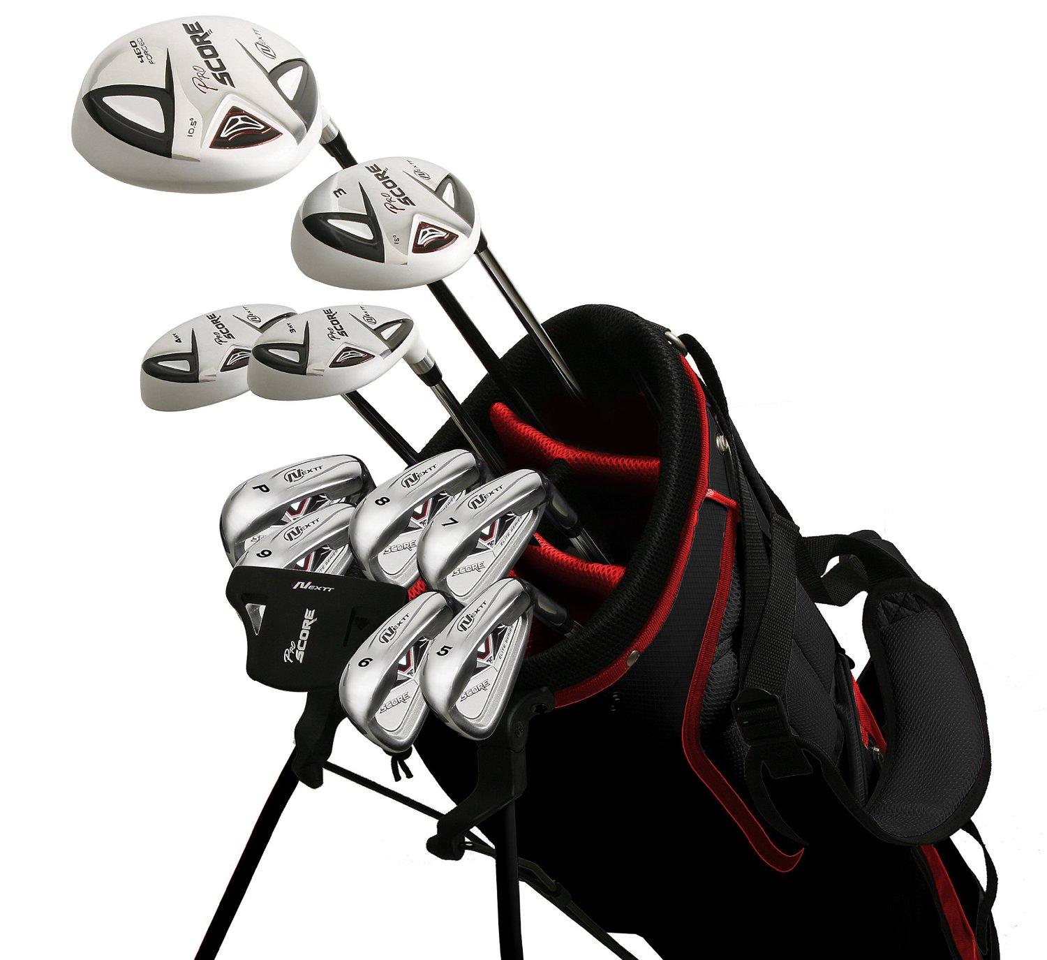 Mens Nextt Pro Score N Elite Complete Golf Club Sets