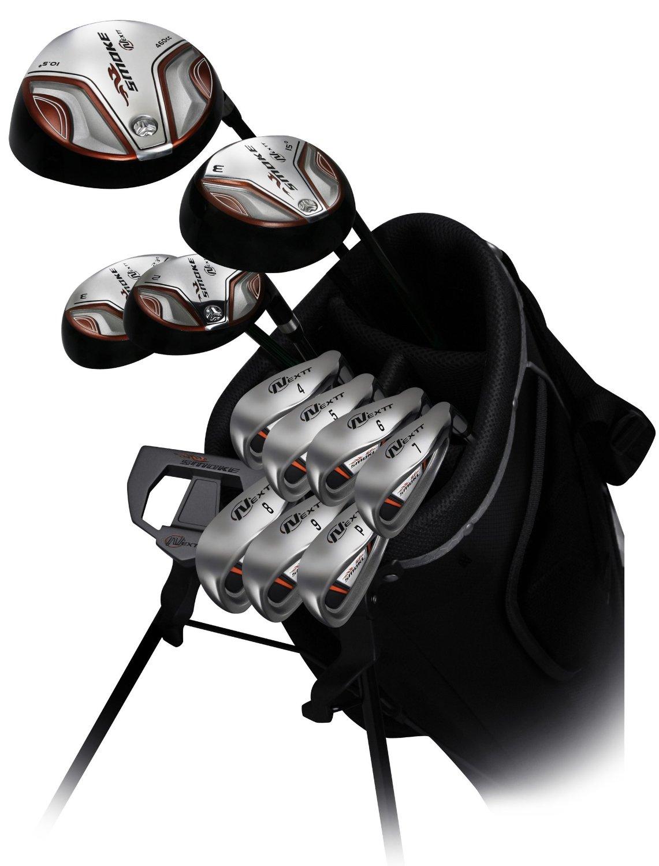Mens Nextt Smoke Complete Outfit Golf Club Sets