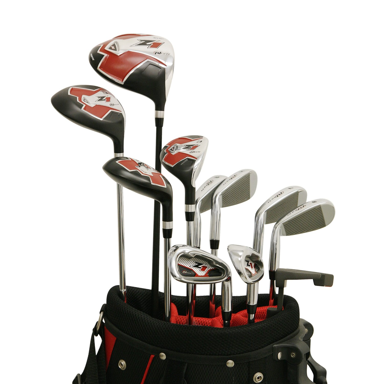Mens Nextt Z1 17-Piece Outfit Complete Golf Club Sets