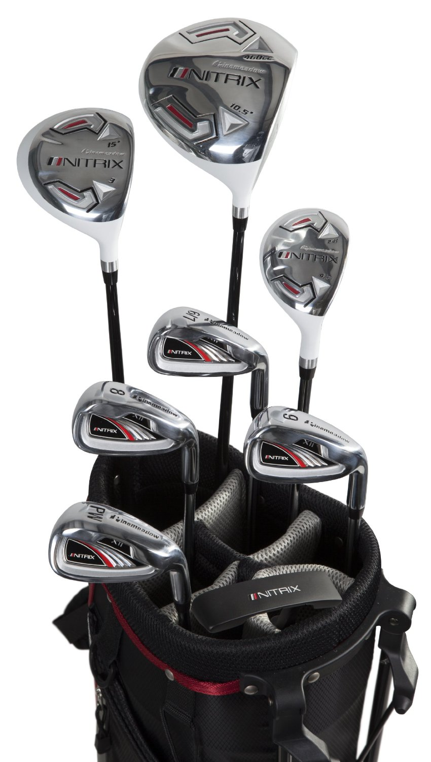 Pinemeadow PRE Golf Clubs Review – 16 Pieces Set. Pinemeadow PRE Men's piece Complete Golf Set – There are many golf club choices for the beginner golfer. One great option is the Pinemeadow PRE Men's piece complete golf set for men who want several choices of clubs for their golfing games.