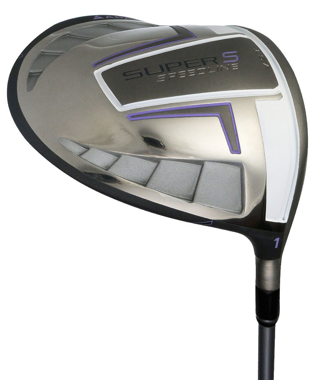 Womens Adams Speedline Super S Black Golf Drivers