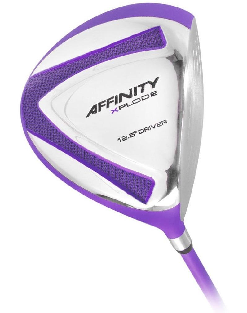 Womens Affinity Purple Xplode Golf Drivers