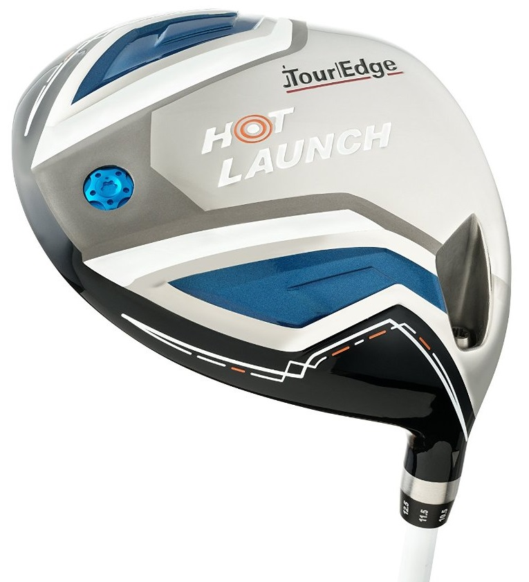 Mens Tour Edge Hot Launch Draw Golf Drivers