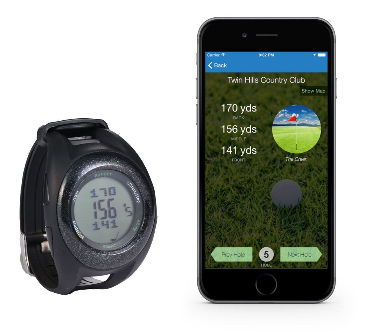 60Beat Ranger GPS Golf Watches