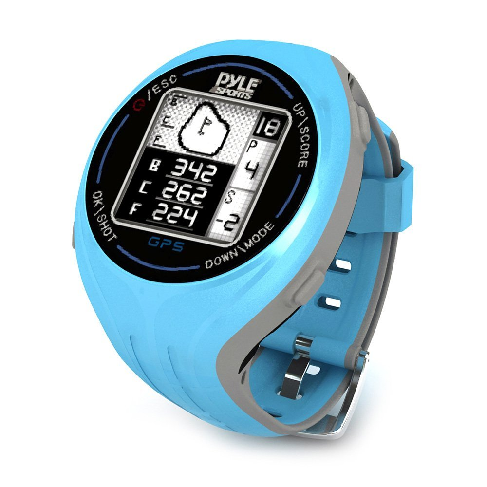 Pyle GPS Smart Golf Watches with Course Recognition