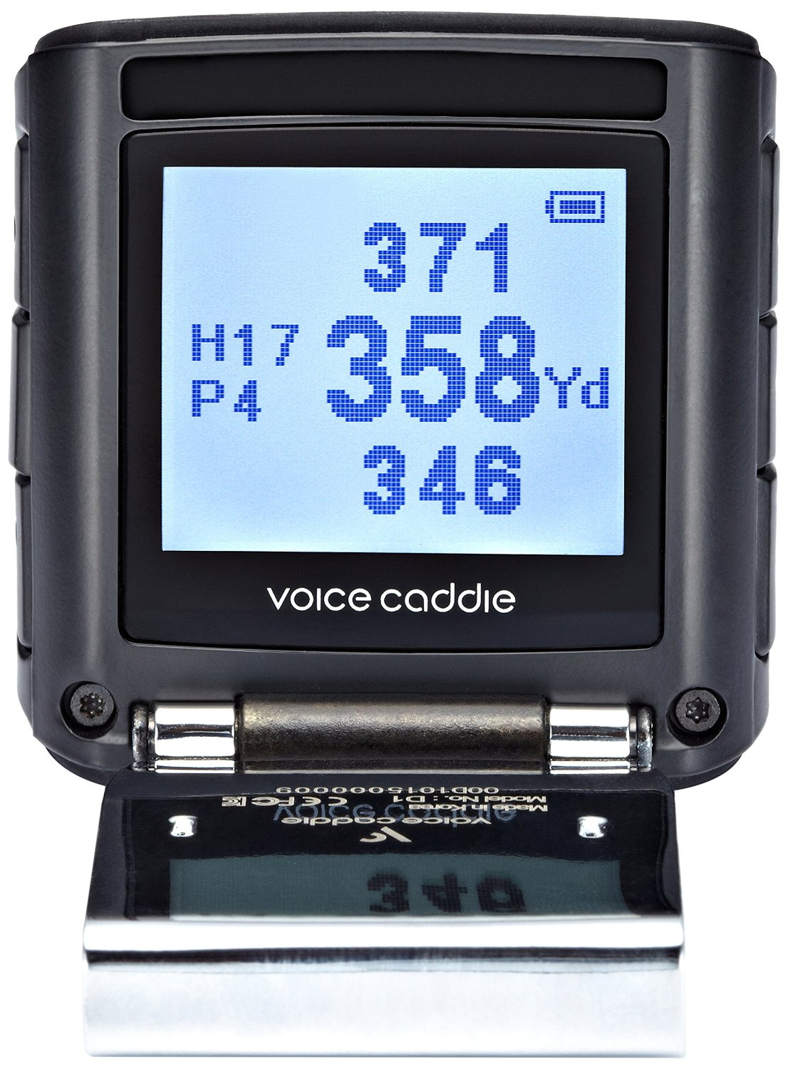 Voice Caddie D1 Voice & Screen Hybrid Golf GPS Rangefinders