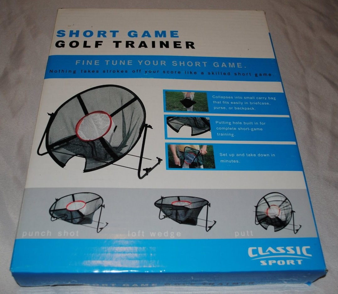 Classic Sport Short Game Golf Trainer Collapsible Chipping Nets