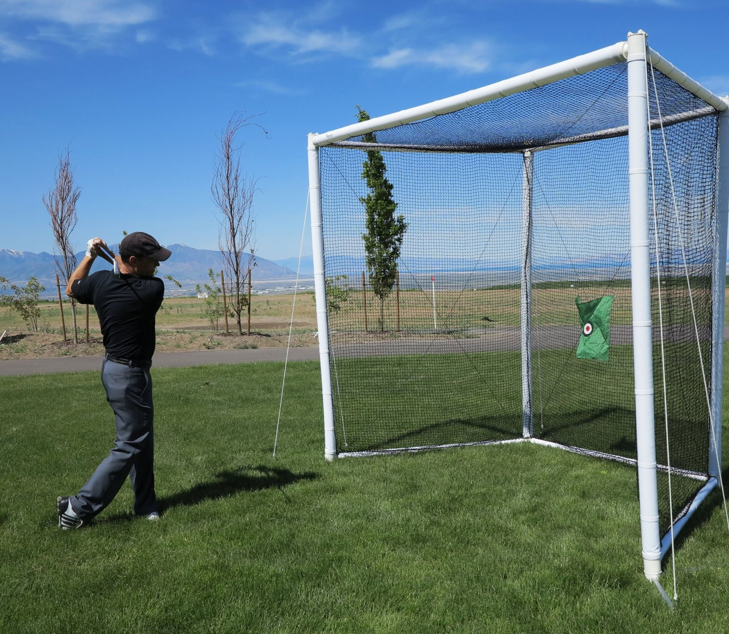Best Backyard Golf Net buy golf driving nets & practice hitting cages for lowest prices!