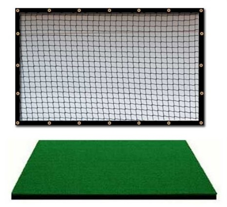 Dura-Pro Golf Mat and Golf Practice Net Combo