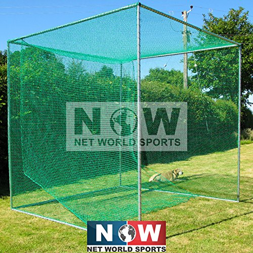 Net World Golf Cage Includes Galvanised Frame and Net