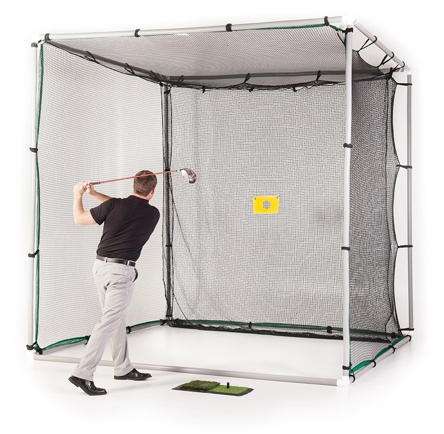 Allsports US Swing Cage PVC Golf Practice Driving Hitting Nets