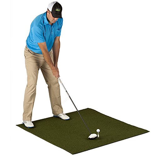 PureShot Pure 5ft x 5ft Golf Practice Hitting Mats