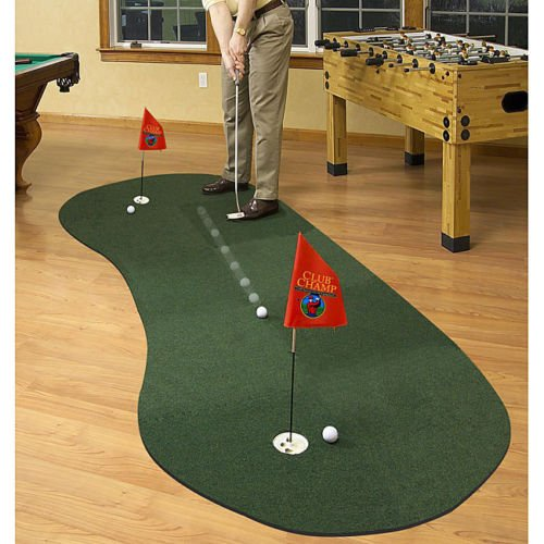 Club Champ Tru Trak Golf Putting Mat Systems