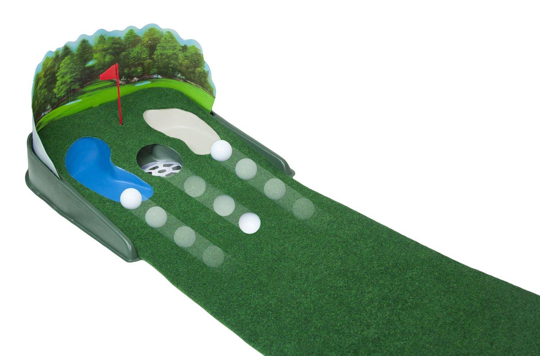 Club Champ Super Sized Putt n Hazard Electric Golf Putting Mats