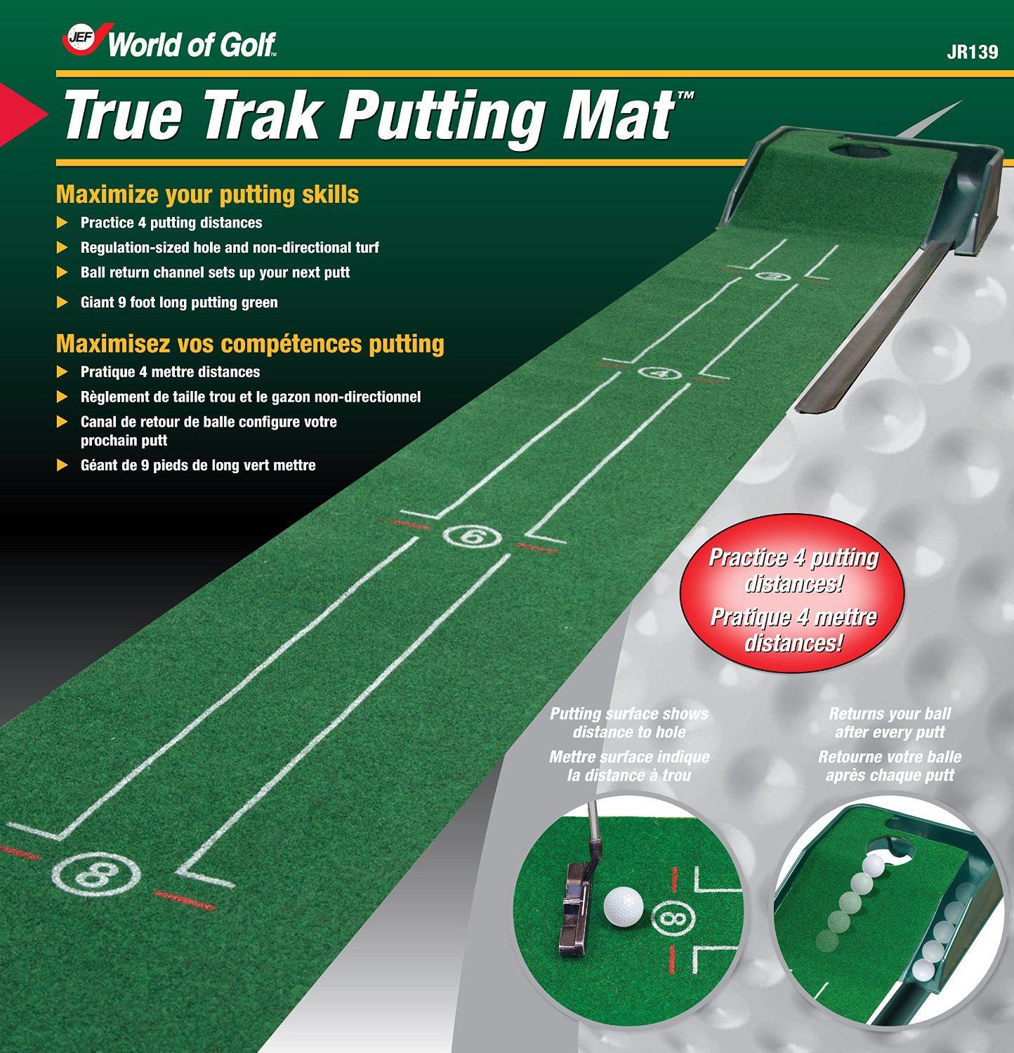 Club Champ Tru-Trak Golf Putting Mat Systems