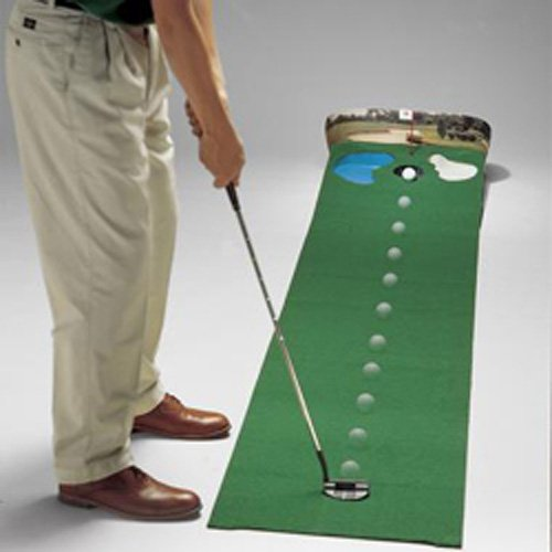 Dennco Putt n Hazard 9ft x 20in Golf Putting Mats