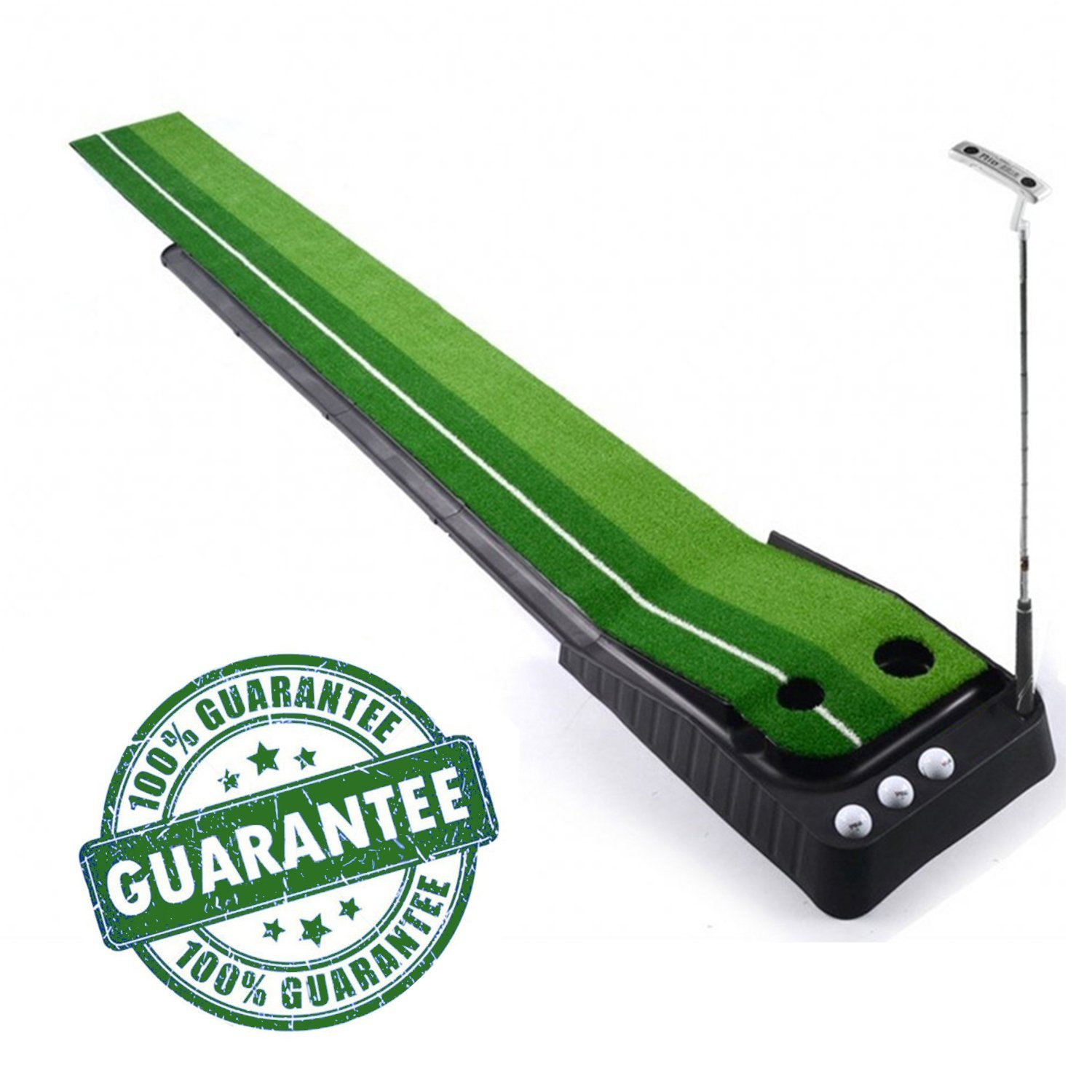 Kungix Indoor Golf Practice Putting Training Mats