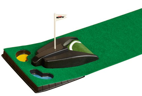 PrideSports Auto Golf Practice Putting Mats 7 Foot