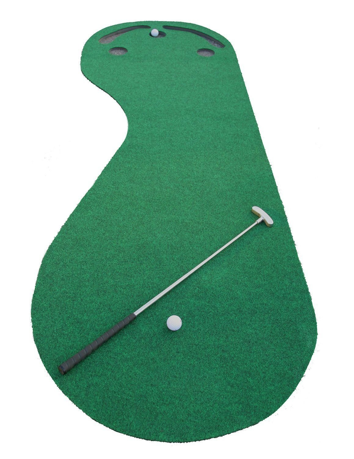 ProActive Golf Practice Cups Training Mat Putting Greens