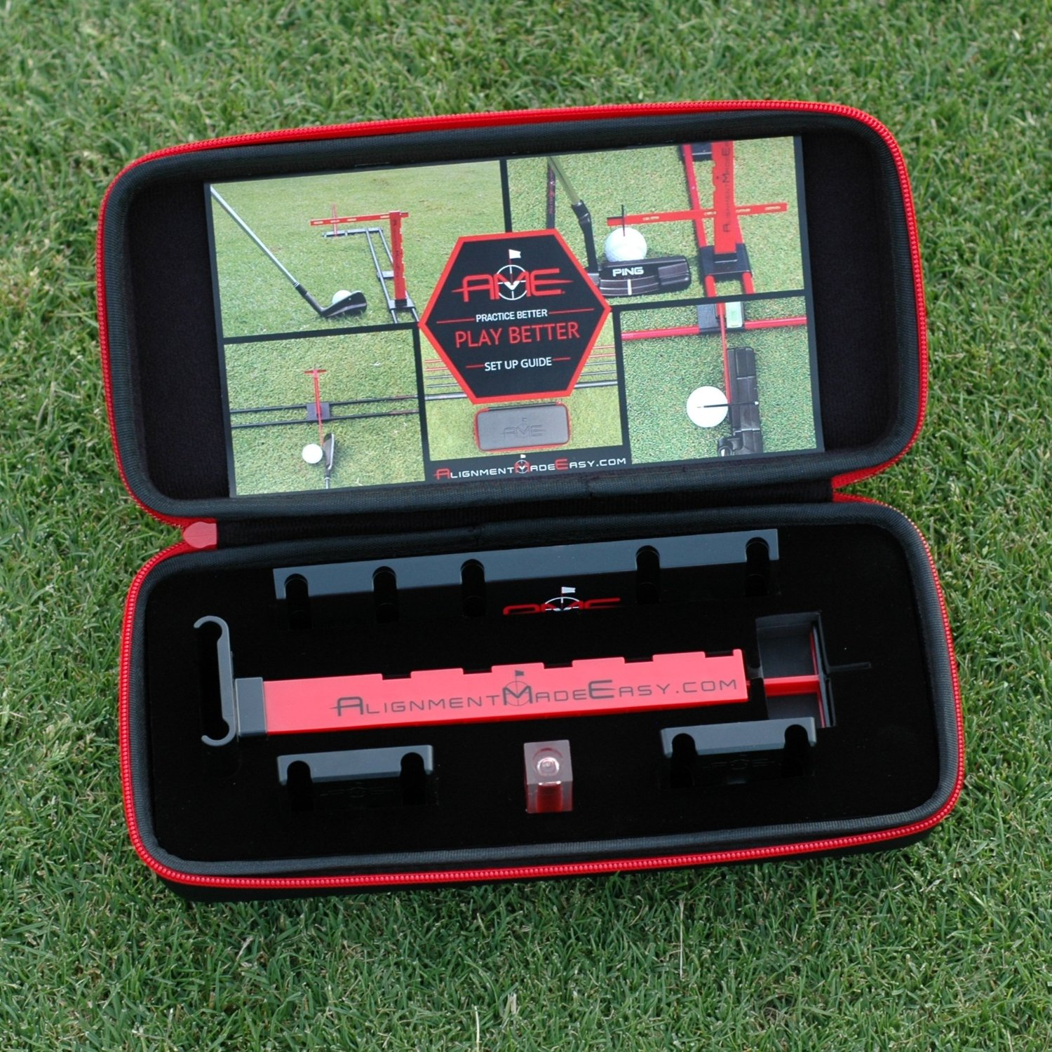 Alignment Made Easy Golf Putting Training Aids