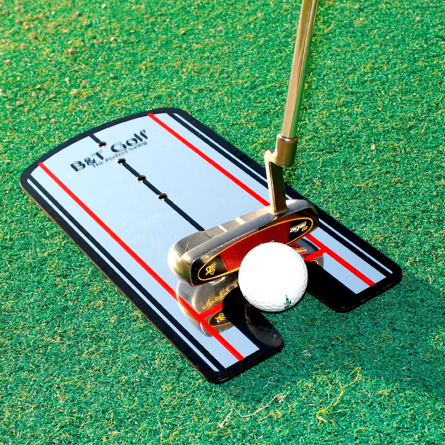 a align towel setup brown grant with aids aid swing your check alignment golf