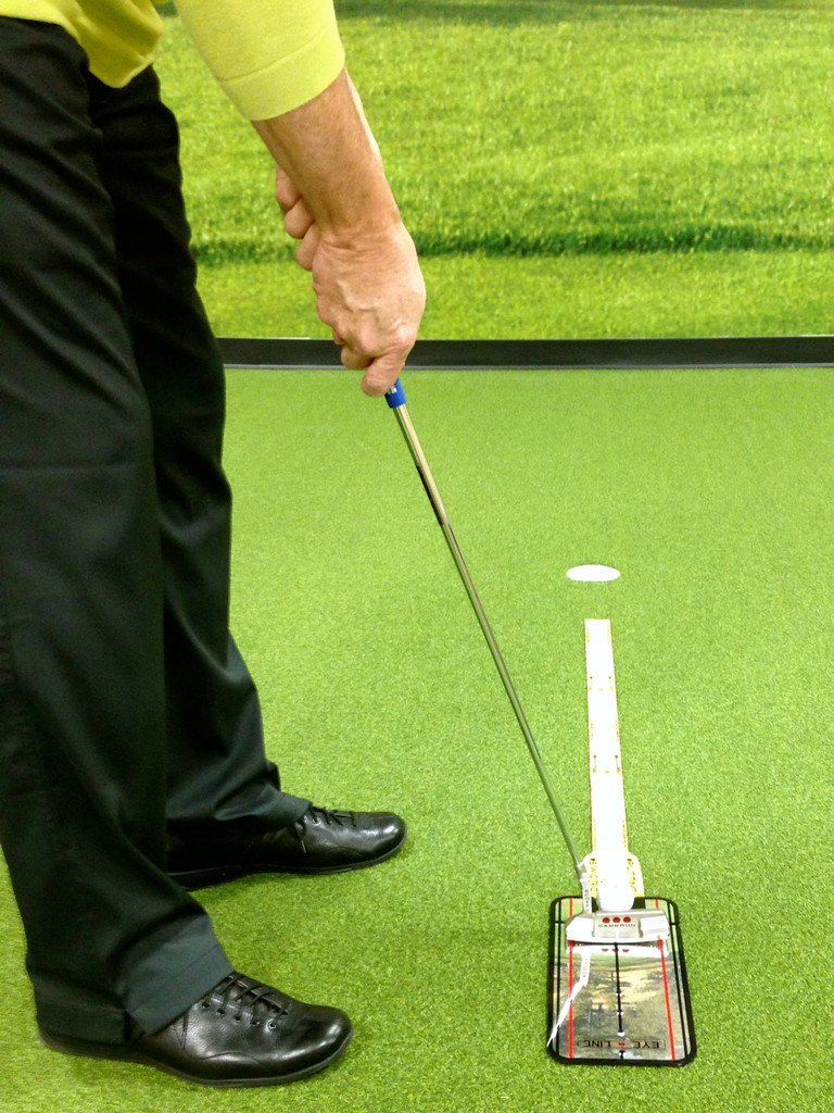 Eyeline Golf Putting Alignment Mirror and Putting Sword Packages