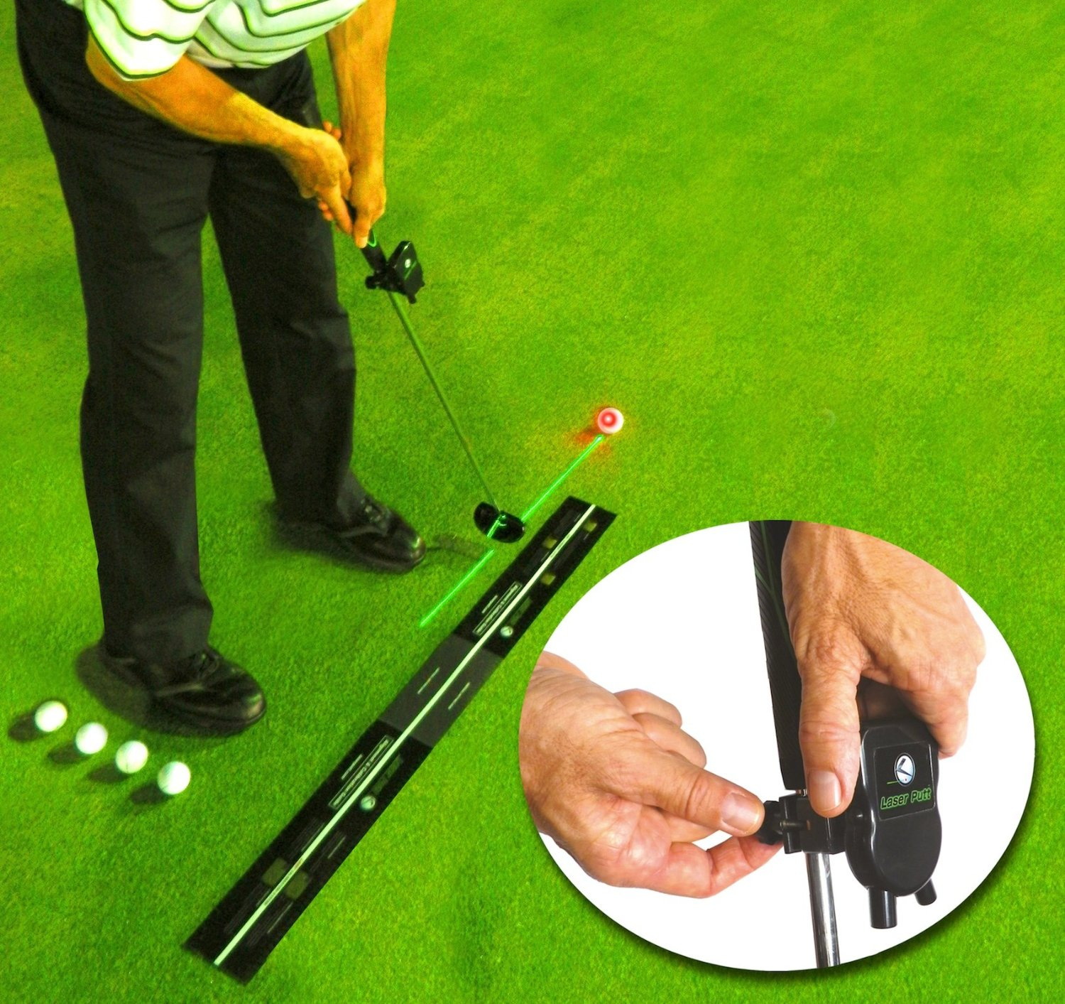 Laser Putt Golf Putting Training Aids