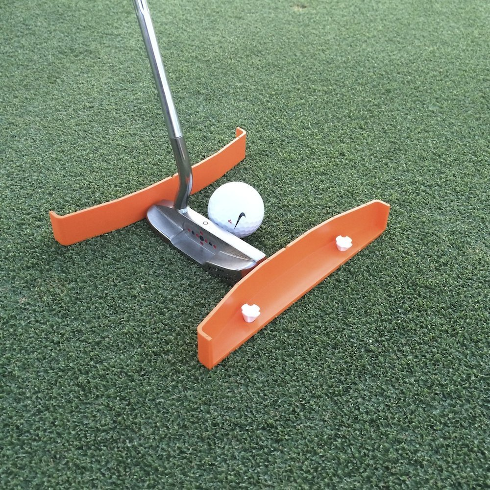 TIBA Putt Golf Putting Alignment and Aim Practice Training Tools