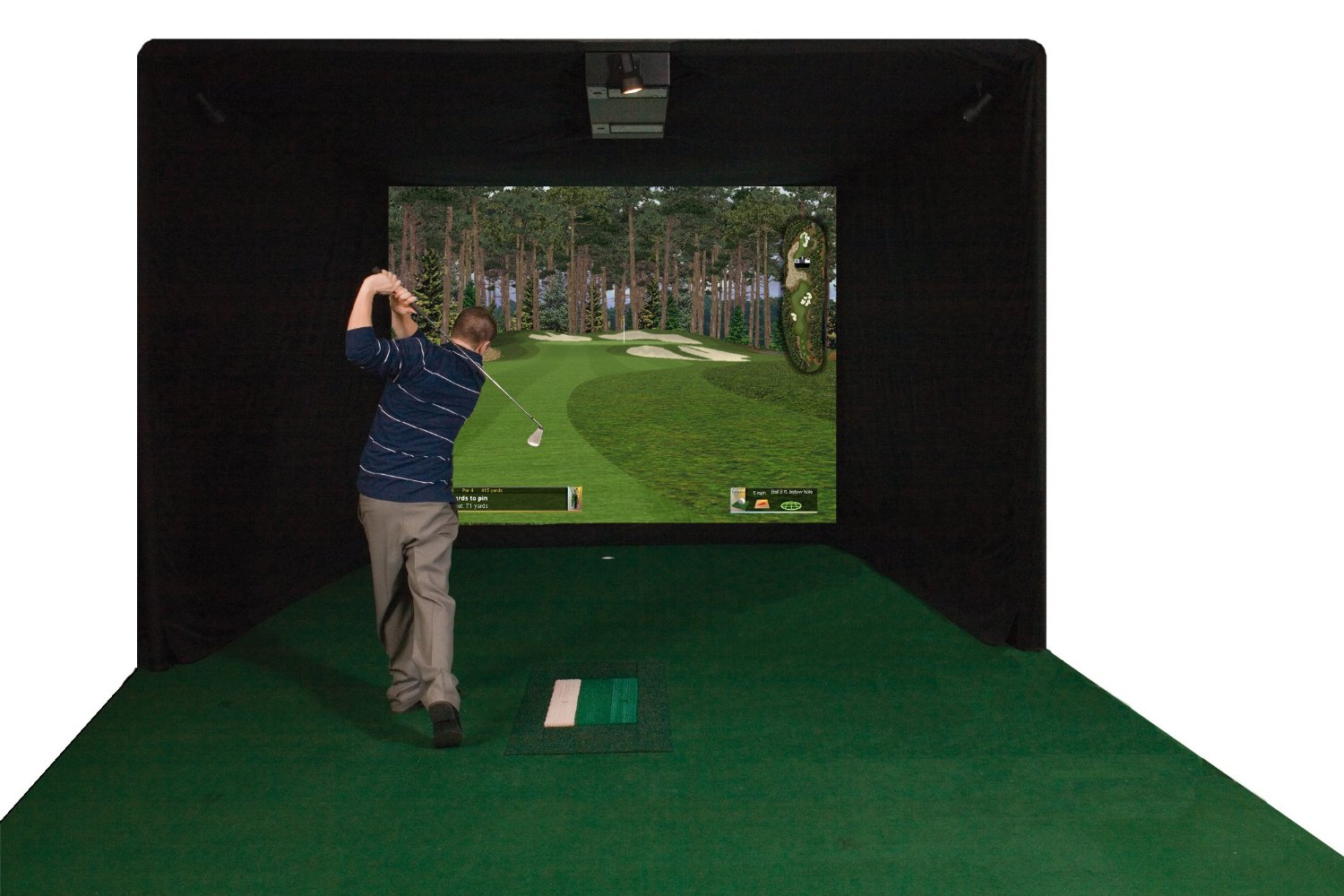 Eagle Stroke ES9000 Par T Golf Indoor Golf Simulators