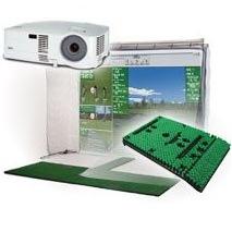 P3ProSwing Pro XCS Golf Simulator Package