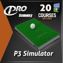 P3Proswing Deluxe Golf Simulators with 20 Courses