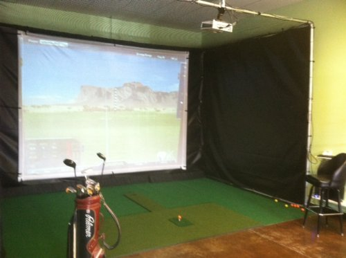 Personal Pro TGC Ultimate Golf Simulator Systems with 70k Courses